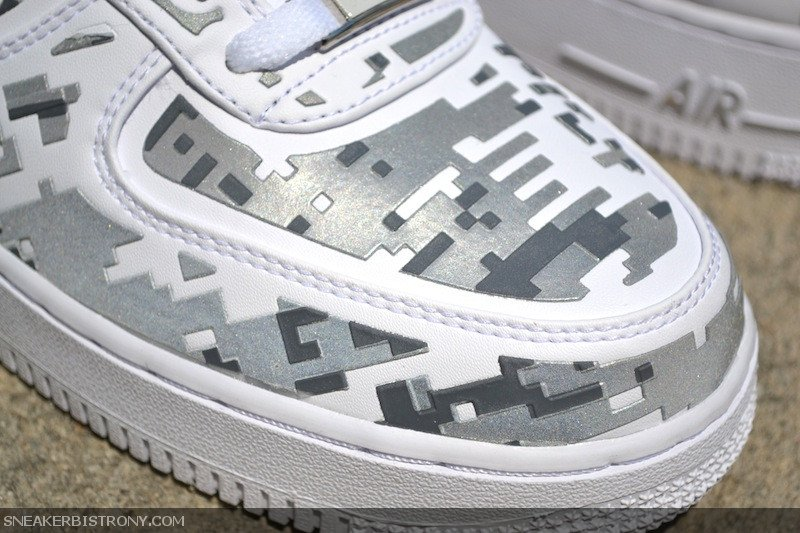 Nike Air Force 1 Low Premium High-Frequency Digital Camouflage Restock at Sneaker Bistro