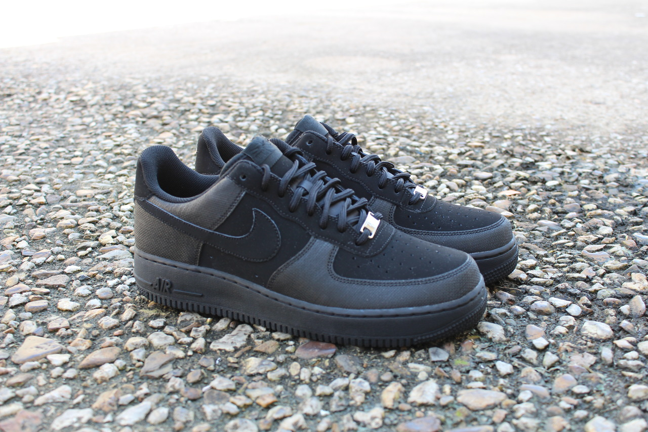 Nike Air Force 1 Low TecTuff 'Blackout'