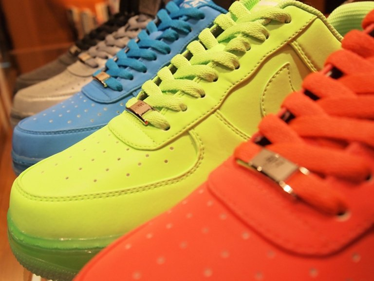 Nike Air Force 1 iD Reflective Synthetic Samples