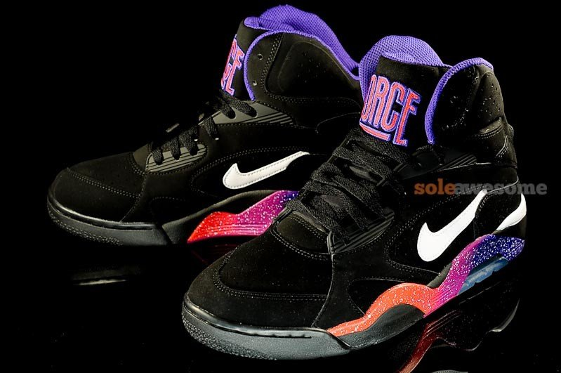 new concept a28e0 908c2 Nike Air Force 180 High  Phoenix Suns  - New Images