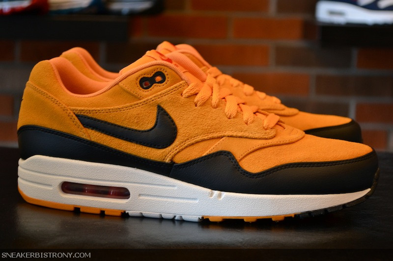 the latest cd3e2 f6029 Nike Air Max 1 Premium  Canyon Gold  at Sneaker Bistro