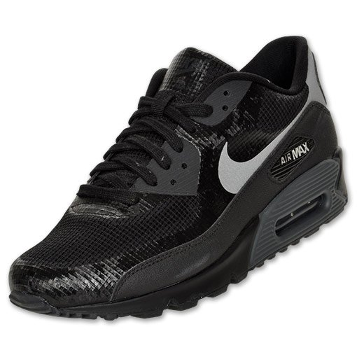 black nike air max 90 hyperfuse