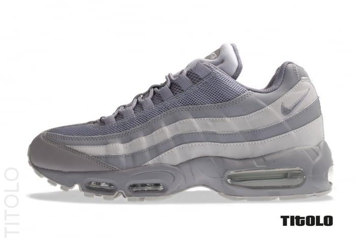 Nike Air Max 95 \u0026#39;Dark Grey/Wolf Grey-White\u0026#39;