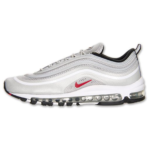 Nike Air Max 97 Hyperfuse Premium 'Metallic Silver/Varsity Red-Black' at Finish Line