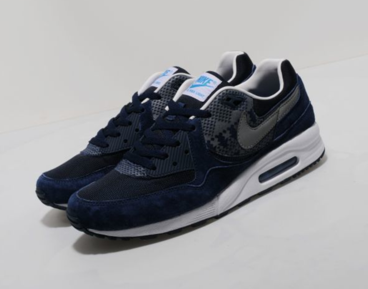 Nike Air Max Light Geometric 'Midnight Navy/Black-White' size? Exclusive