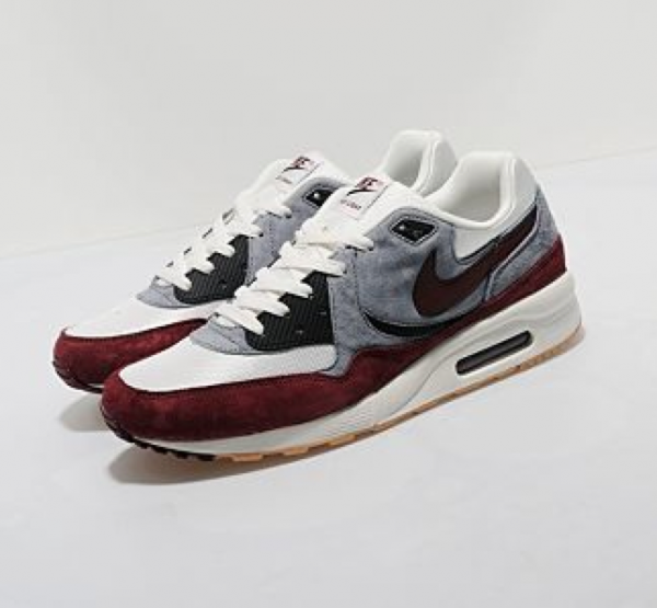 Nike Air Max Light size? Exclusive 'Wolf Grey/Burgundy-Sail-Black' Restock