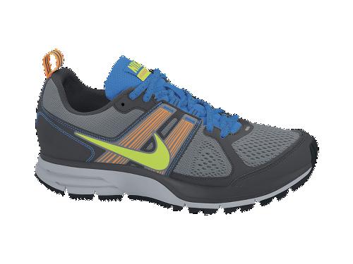 Nike Air Pegasus+ 29 Trail 'Cool Grey/Electric Green-Total Orange-Signal Blue'