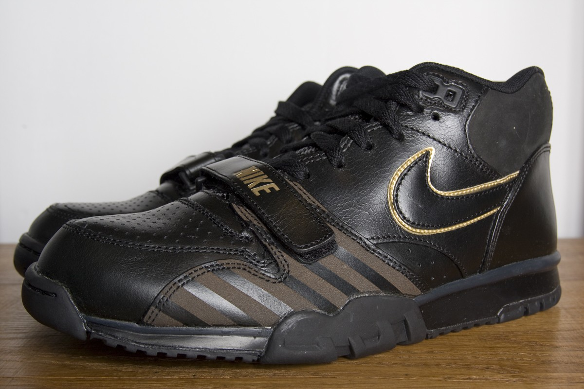 quality design ccf2f 243a6 Nike Air Trainer 1 Mid BB51  Black  at Social Status
