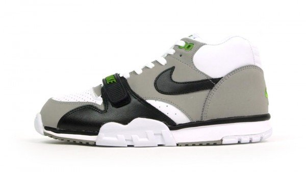 info for 6dac6 4238f Nike Air Trainer 1 Mid Premium  Chlorophyll  - Release Date + Info
