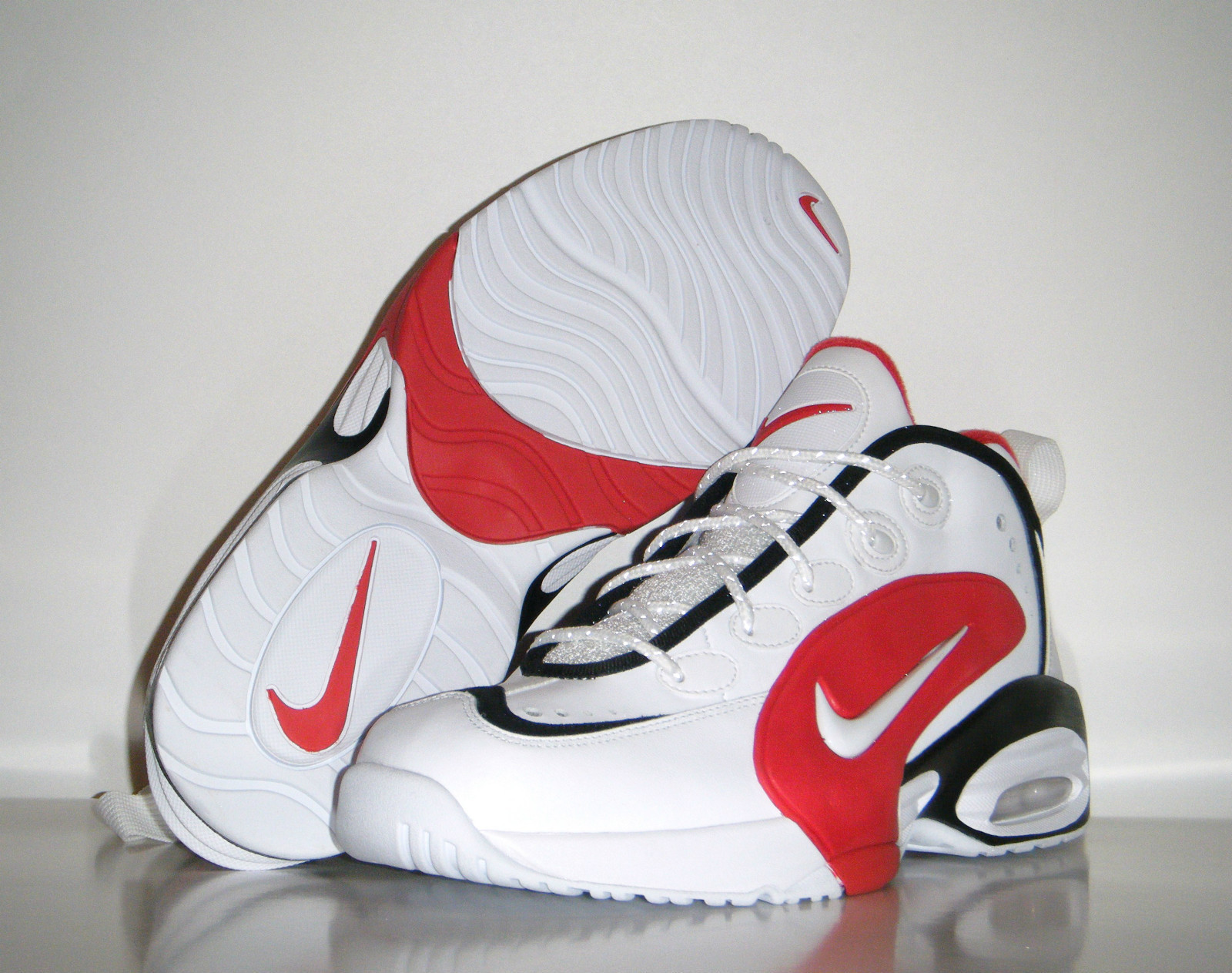 Nike Air Way Up 'White/White-Black-University Red' 2013 Sample