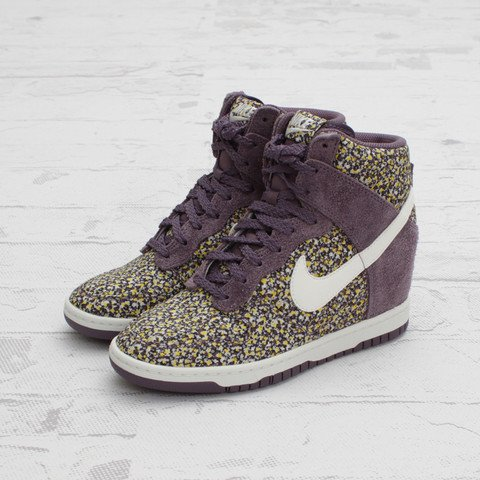 Nike Dunk Sky Hi x Liberty 'Pepper' at Concepts