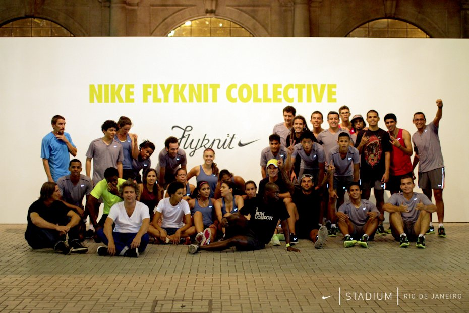 Nike Flyknit Collective Hosts Its First Workshop in Rio