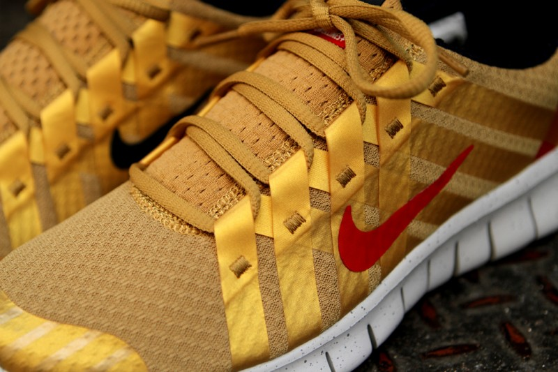 Nike Free Powerlines+ NRG 'Gold Medal' at Kith NYC