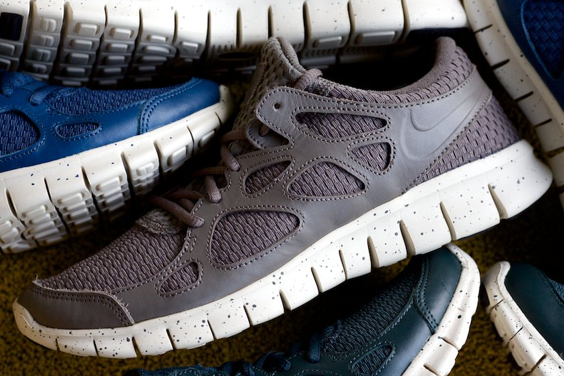 more photos 07767 fe414 Nike Free Run+ 2 NSW Woven Leather TZ Pack - Up Close