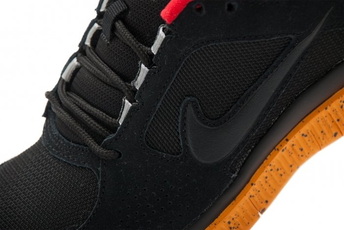 Nike Free Run+ 3 NSW 'Black/Black-Canyon Gold-University Red'