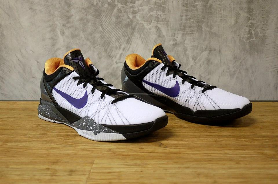 Nike Kobe VII (7) 'White/Black-Gold-Purple'