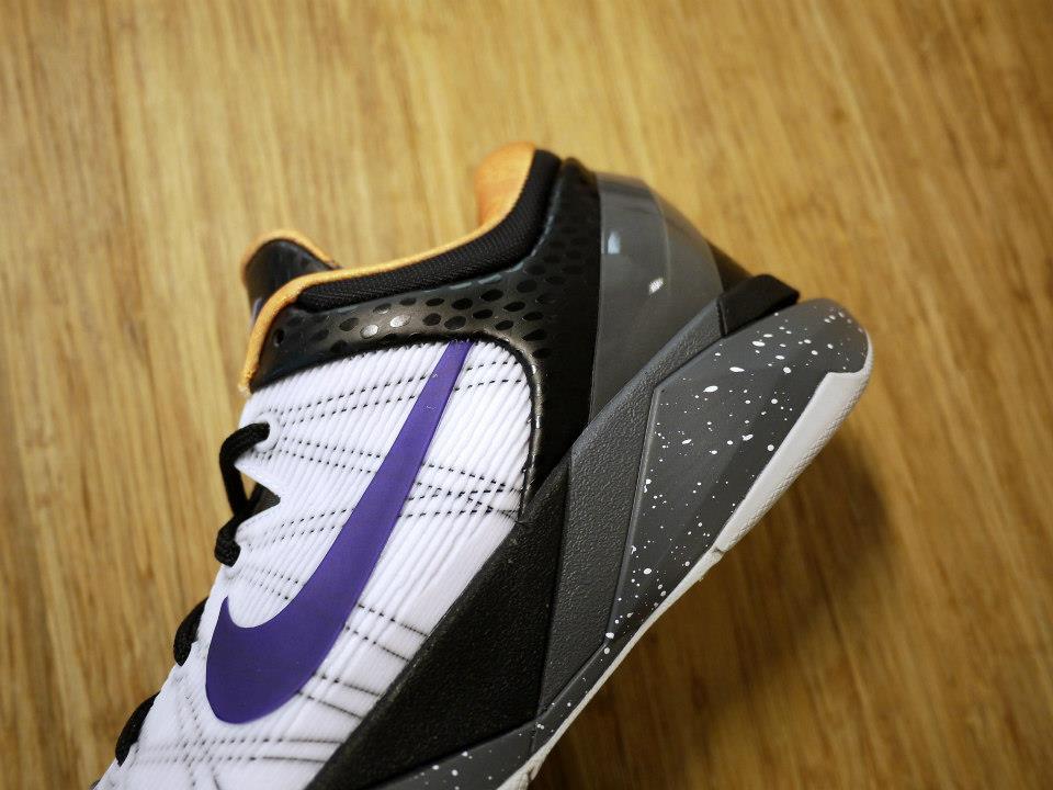 Nike Kobe VII (7) 'White/Black-Gold-Purple'