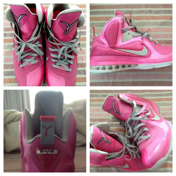 big sale d0dbe c3739 Nike LeBron 9  Think Pink  - New Images