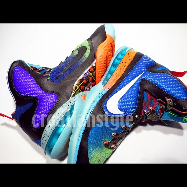Nike LeBron 9 'What The LeBron' - New Images