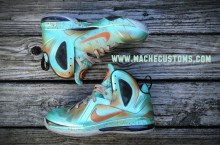 Nike LeBron 9 P.S. Elite '… And Justice for All' (Statue of Liberty) by Mache Custom Kicks