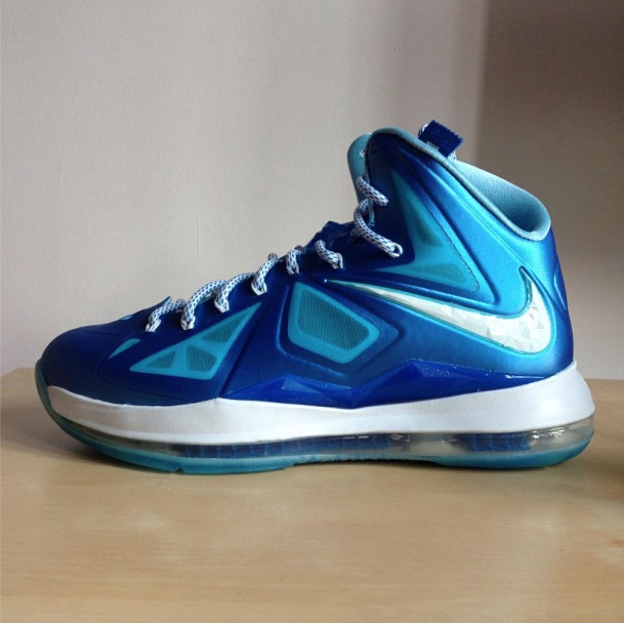 Nike LeBron X+ 'Blue Diamond' - Release Date + Info