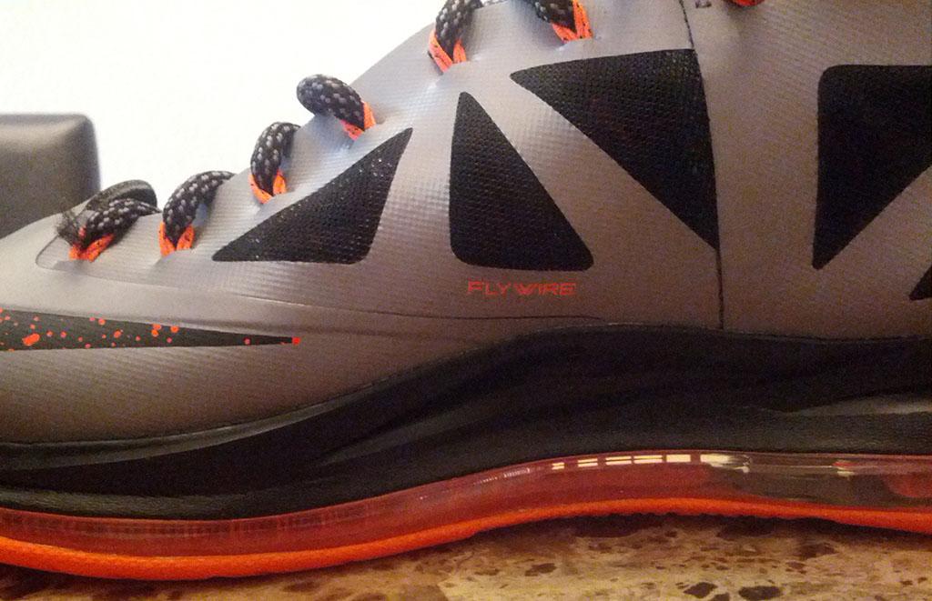 Nike LeBron X 'Silver/Black-Orange' - New Images