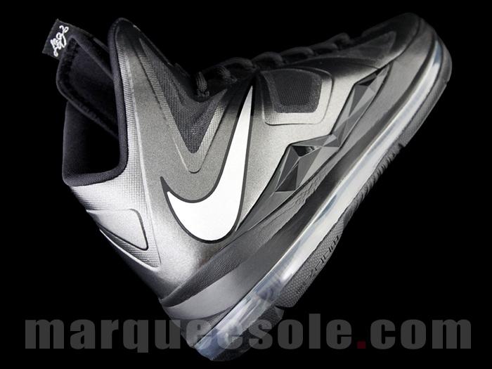 Nike LeBron X (10) 'Black/White'