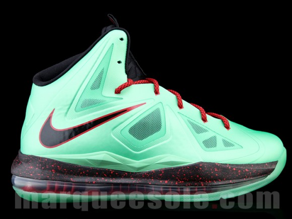Nike LeBron X (10) 'Cutting Jade'