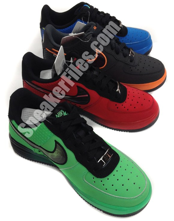Nike Lunar Force 1 Low Hero Pack - Summer 2013
