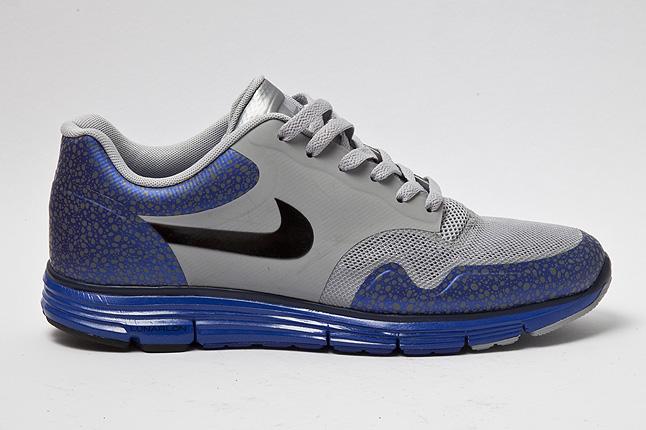 Nike Lunar Safari Fuse+ 'Silver/Blue'
