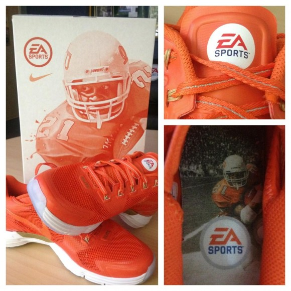 Nike Lunar TR1 NCAA Football '13 Barry Sanders Promo
