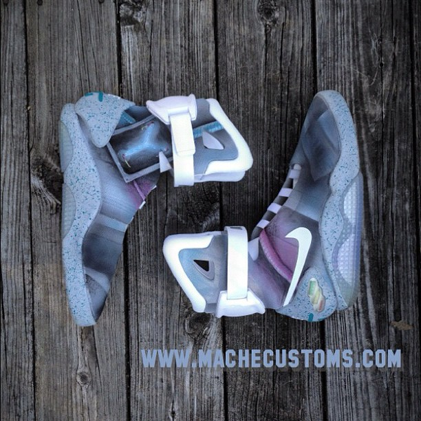 Nike MAG 'Flux Capacitor' by Mache Custom Kicks