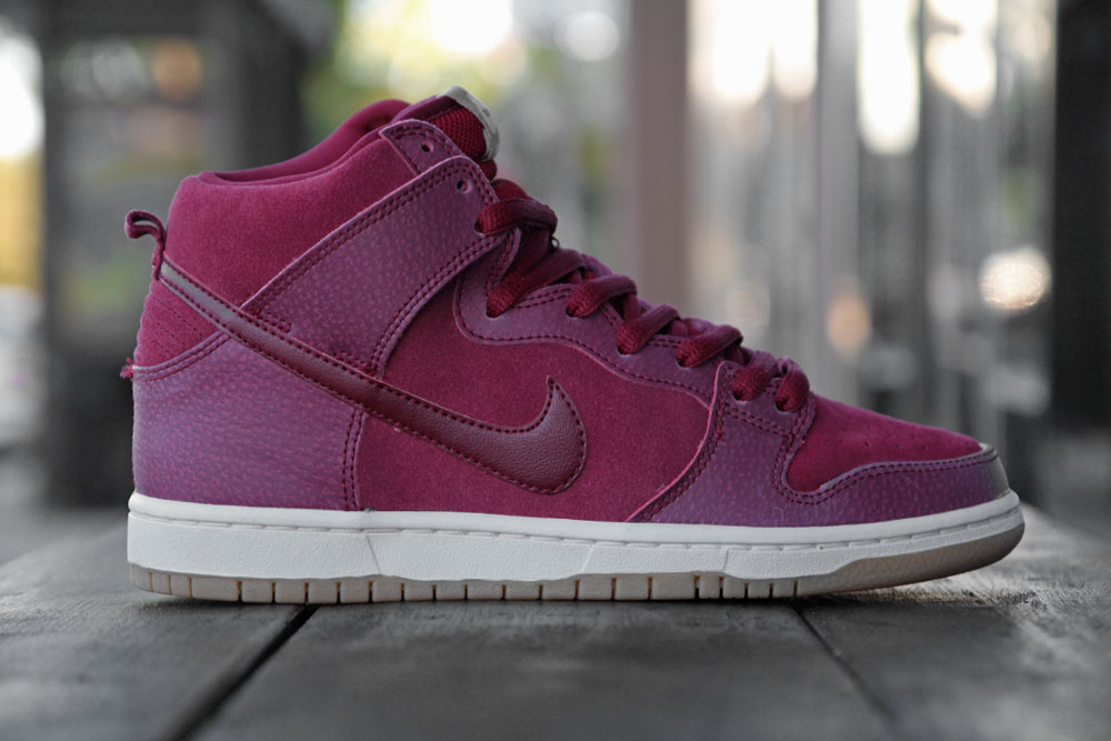 Nike SB Dunk High 'Team Red/Filbert' at Primitive