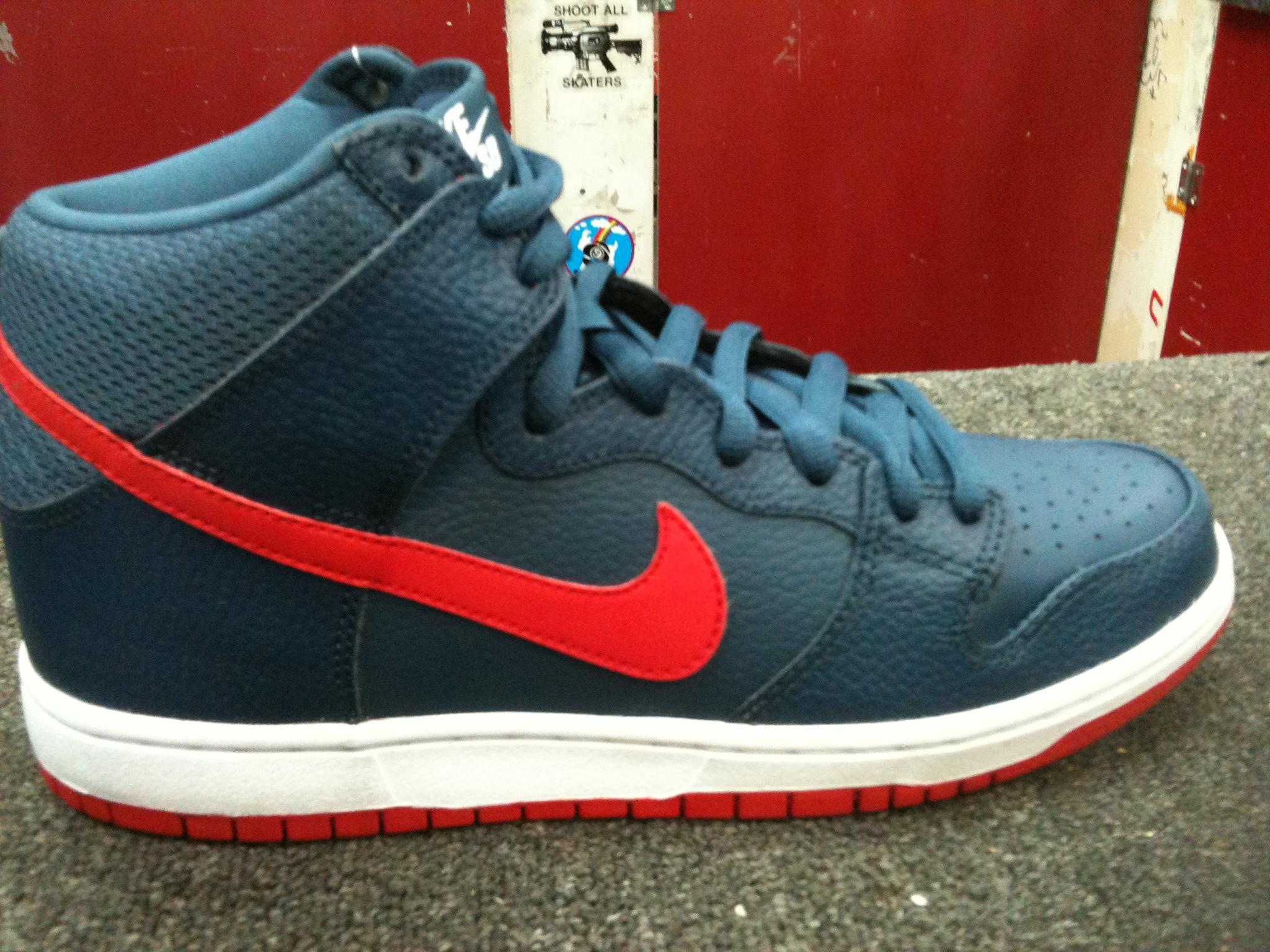 Nike SB Dunk High 'Pebbled' - Spring 2013
