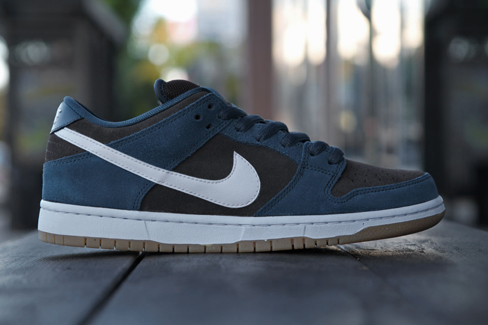Nike SB Dunk Low 'Slate Blue/White-Tar' at Primitive