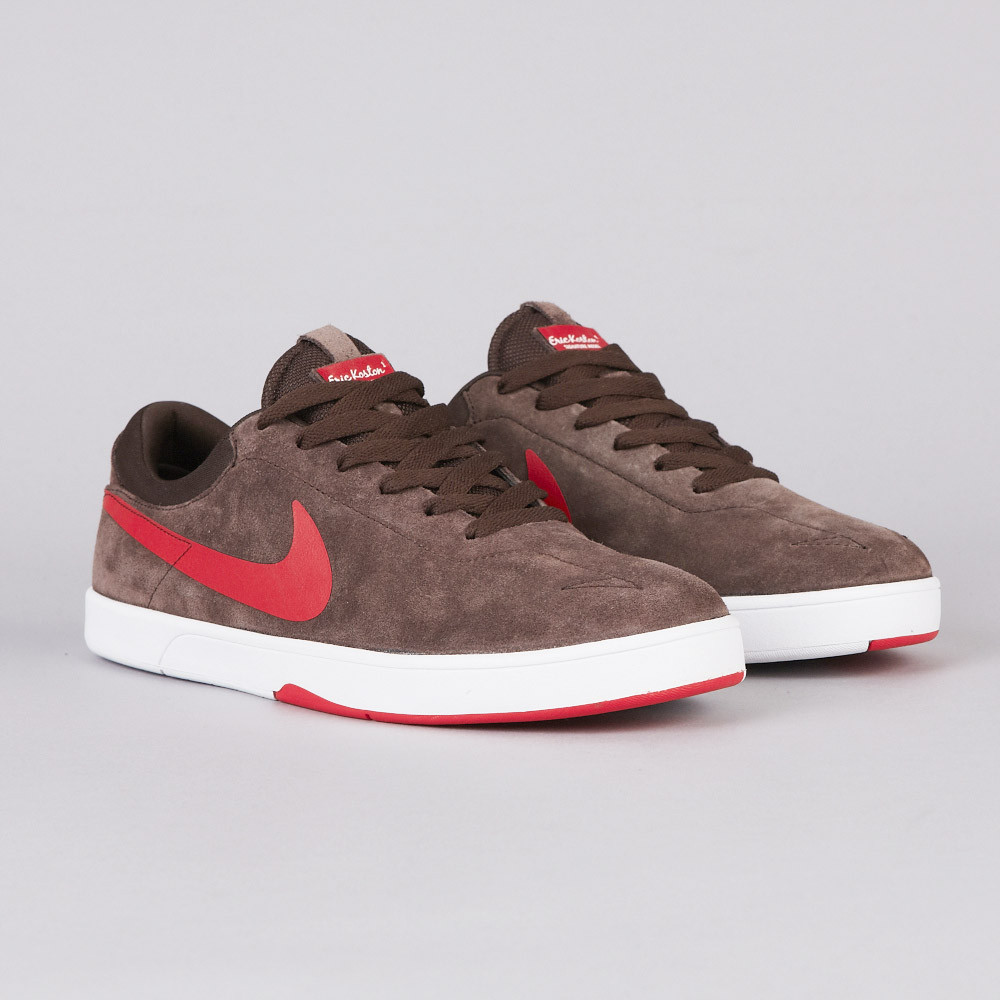 Nike SB Eric Koston  Baroque Brown Challenge Red-White   8cc74855a2