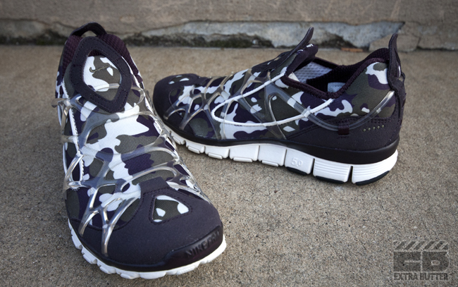 Nike WMNS Kukini Free Camo 'Port Wine/Medium Olive-Sail' at Extra Butter