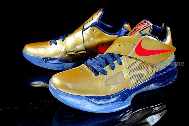 Nike Zoom KD IV 'Gold Medal' – Detailed Look