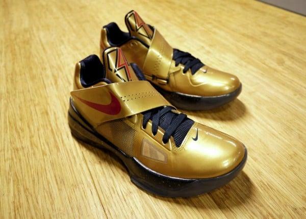 buy popular 26033 1aa26 Nike Zoom KD IV  Gold Medal  - Release Date + Info