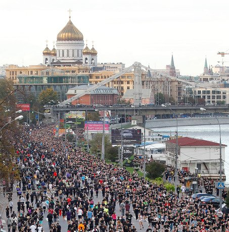 Nike's We Run Moscow 10K Connects Nearly 20,000 Runners