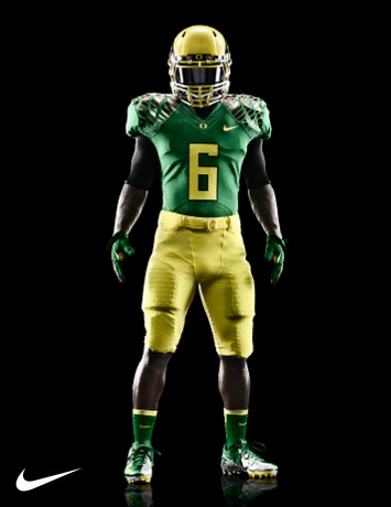 Oregon Ducks Season Opener Uniform Honors Retro-Futuristic Approach to Game