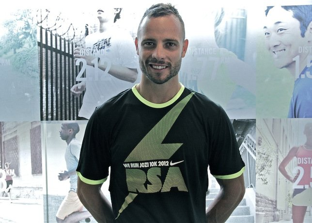 Oscar Pistorius Challenges Runners to Hit the Streets for Nike's We Run Jozi 10K