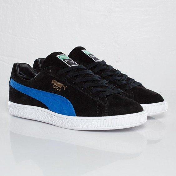 PUMA Suede Classic Made In Japan 'Black/Snorkel Blue' at SNS