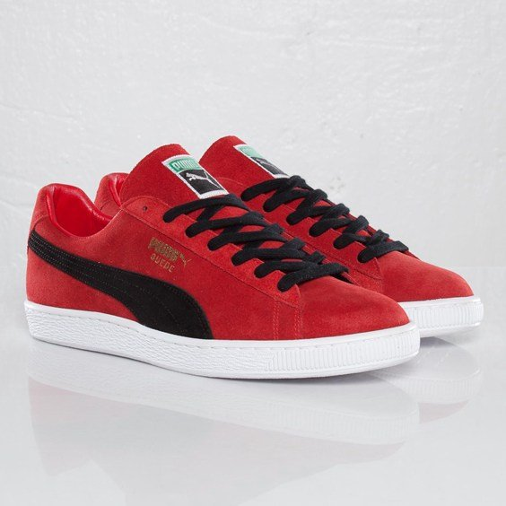 release date: bd064 283e7 PUMA Suede Classic Made In Japan 'Ribbon Red/Black' at SNS ...