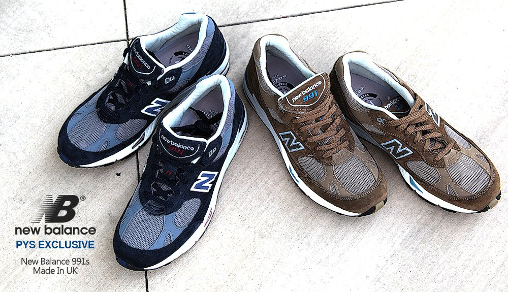 PYS x New Balance 991 'Made In UK'