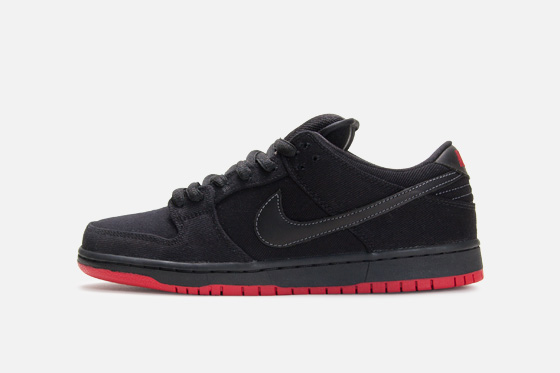 Release Reminder: Levi's x Nike SB Dunk Low 'Black' at Atlas