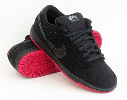 Release Reminder: Levi's x Nike SB Dunk Low 'Black' at Black Sheep