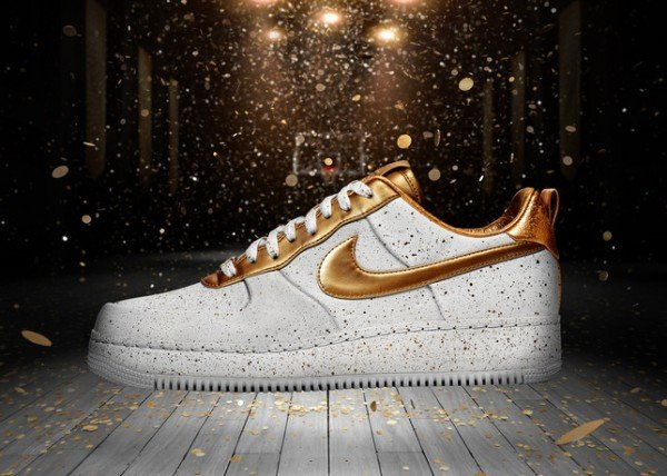 Release Reminder: Nike Air Force 1 Low 'Gold Medal'