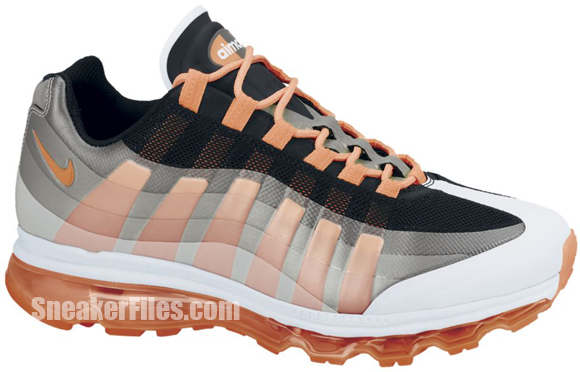 Release Reminder: Nike Air Max 95+ BB 'Black/Total Orange-Dark Grey-Wolf Grey'