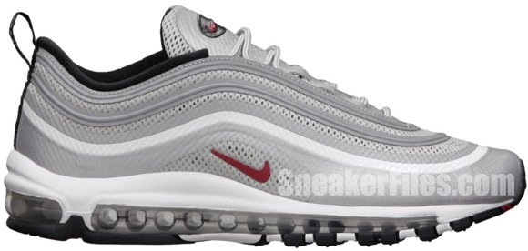 Release Reminder: Nike Air Max 97 Hyperfuse Premium 'Silver Bullet'